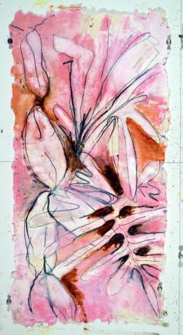 Theme & Variation: Pink & Brown Pink 8