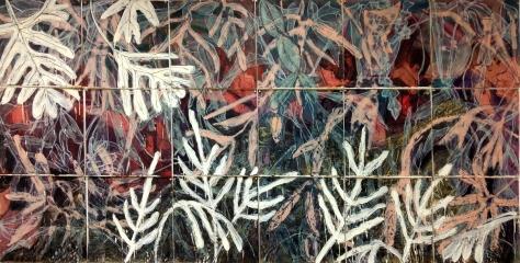 Turner's II_ oil, wax, over monotype_48x96