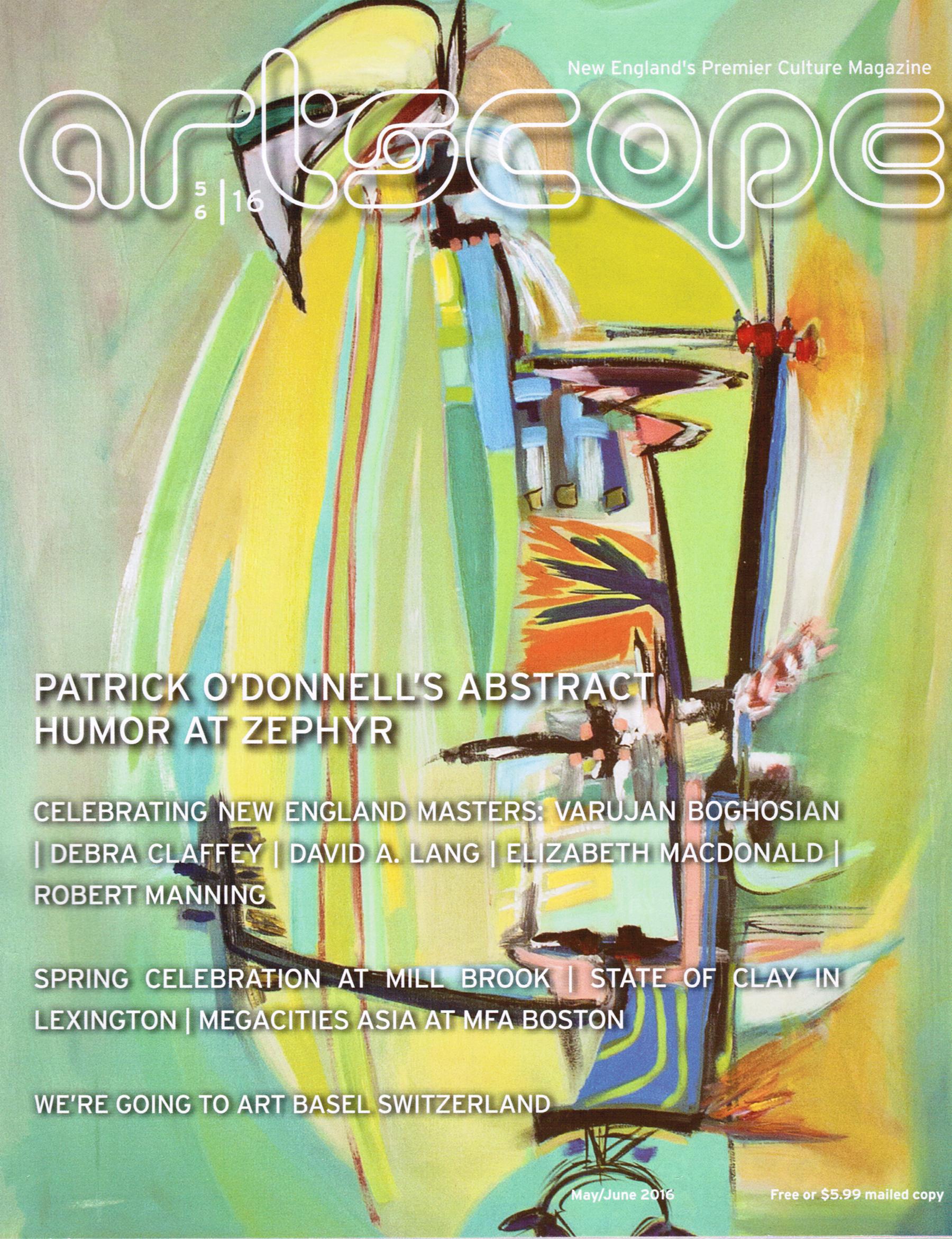Artscope June 2016 cover