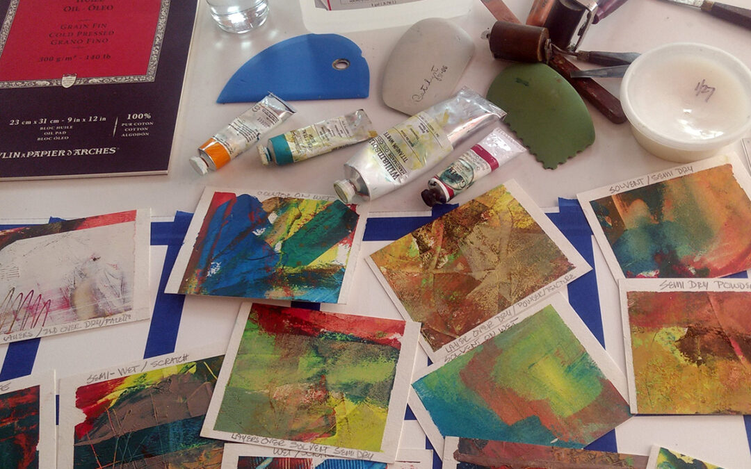Online painting group Wednesdays or Fridays – Join us!