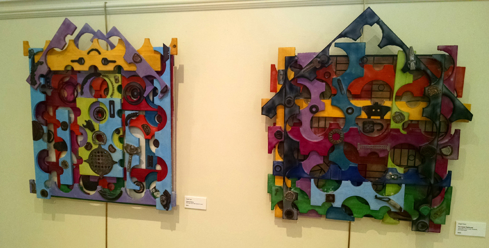 "Angel Dean's ""Chianty Shanty"" work and ""Parcheesi Playhouse"""