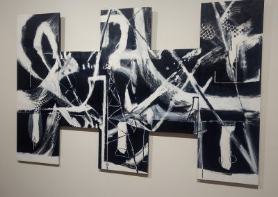 John Pagano, Visual Diary Entry, acrylic paint on canvas