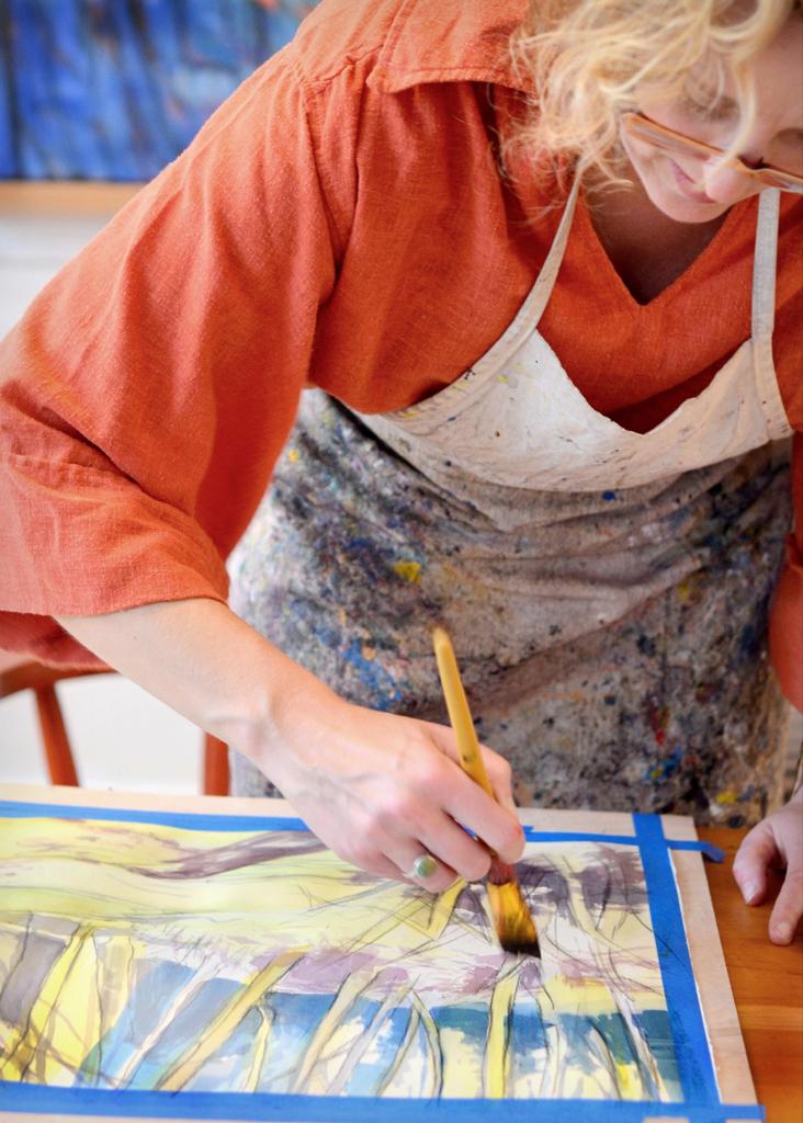 Helene Painting 1