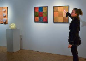 O'Neal with Kim Bernard work