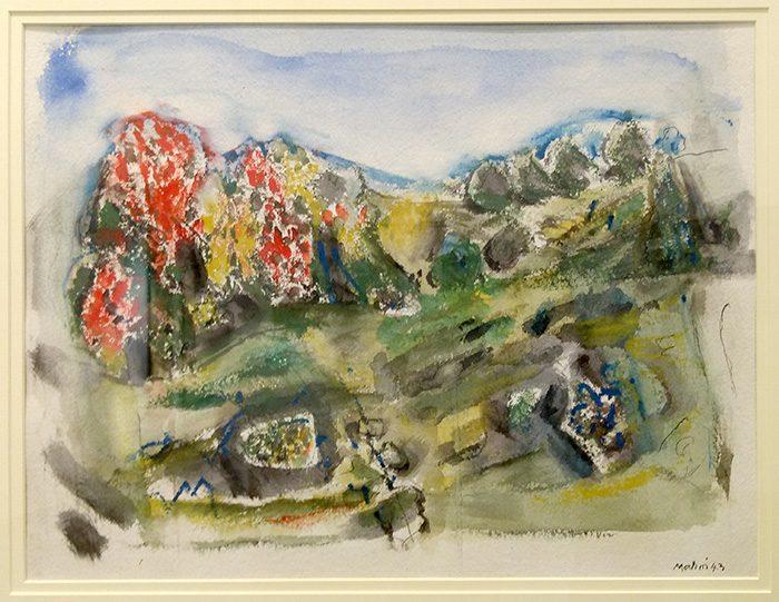 Marin_Autumn Hillside - Cape Split - 1943