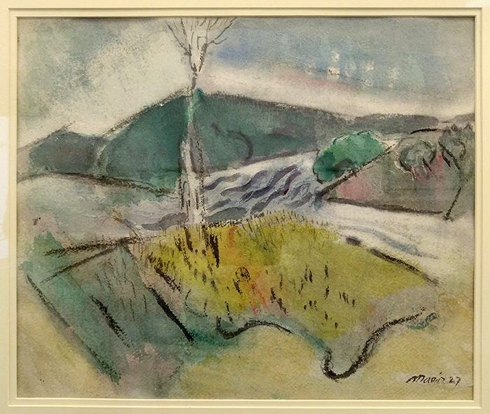 Marin_The Branch, Small Point, Maine - 1927